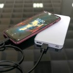 4smarts Power Bank VoltHub Lite 10000 mAh - външна батерия с два USB и USB-C изходи (бял) 2