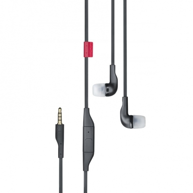 Nokia Headset WH-205 Stereo - слушалки с микрофон за мобилни телефони Nokia (bulk package) (черни)