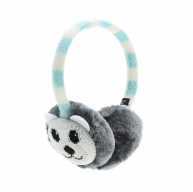 KitSound On-Ear Polar Bear Audio Earmuffs - ушанки с вградени слушалки с 3.5 мм аудио жак за iPhone и мобилни устройства