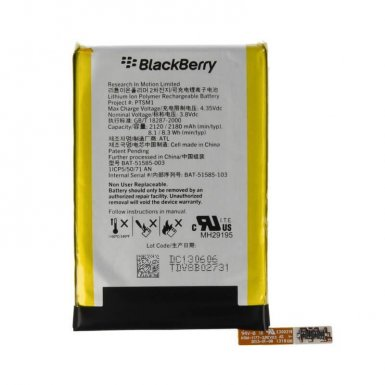 BlackBerry Battery BAT-51585 - оригинална резервна батерия за BlackBerry Q5 (bulk)