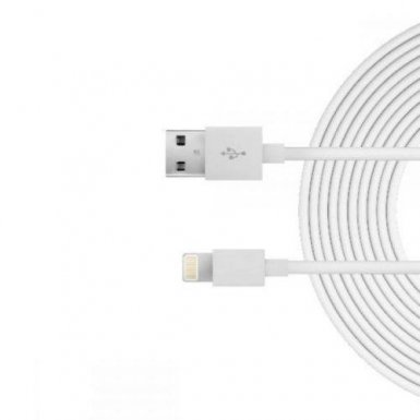 Just Wireless Lightning USB Cable - USB кабел за iPhone, iPad и устройства с Lightning порт (3 метра)