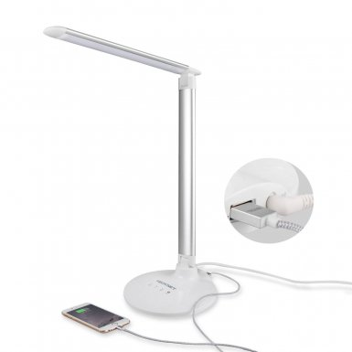 TeckNet LED05 15W EyeCare LED Desk Lamp with Touch Control - настолна LED лампа с тъч контрол