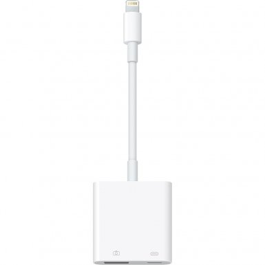 Apple Lightning to USB 3.0 Camera Adapter - оригинален USB 3.0 адаптер за iPhone, iPad и iPod с Lightning