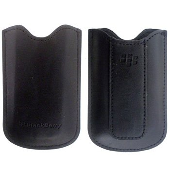 BlackBerry Leather Pouch - кожен калъф за BlackBerry Pearl 8100/8110/8120/8130 (bulk)