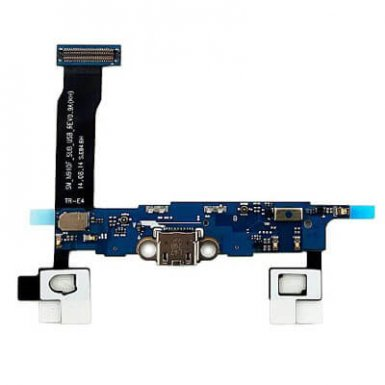 Samsung Charging Connector Flex Cable - оригинална резервна платка с microUSB вход за зареждане за Samsung Galaxy Note 4