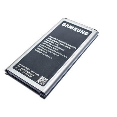 Samsung Battery EB-BG900 - оригинална резервна батерия 4.4V, 2800mAh за Samsung Galaxy S5 (retail package)