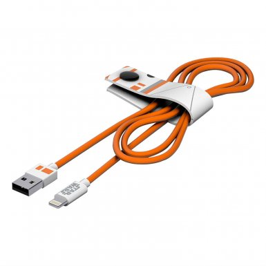 USB Tribe Star Wars BB-8 Lightning Cable - сертифициран Lightning кабел за iPhone, iPad и iPod с Lightning  (120 см)