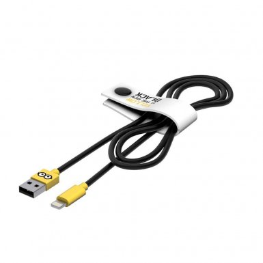 USB Tribe Minions Jail Time Minion Lightning Cable - сертифициран Lightning кабел за iPhone, iPad и iPod с Lightning  (120 см)