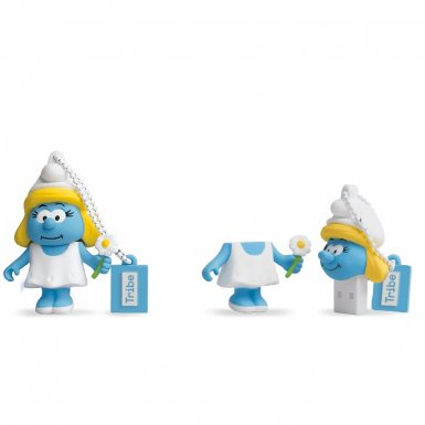 USB Tribe Smurfs Smurfette USB Flash Drive 16GB - USB флаш памет 16GB