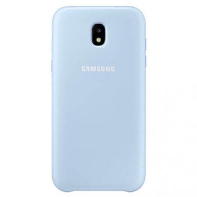 Samsung Dual Layer Cover EF-PJ530CL- оригинален хибриден кейс за Samsung Galaxy J5 (2017) (син)