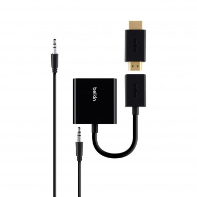 Belkin Universal HDMI to VGA Adapter with Audio - универсален HDMI към VGA адаптер с 3.5 мм аудио