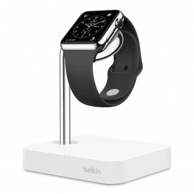 Belkin Watch Valet Charge Dock For Apple Watch - сертифицирана док станция за зареждане на Apple Watch (бял)