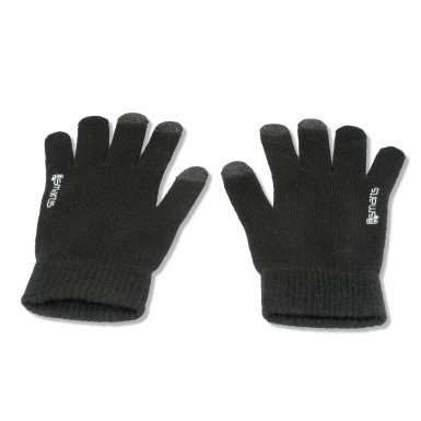 4smarts Winter Gloves Touch Unisex Size S/M - зимни ръкавици за тъч екрани M/L размер (черен)