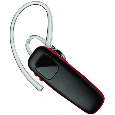 Plantronics Bluetooth Headset M75 - безжична слушалка за iPhone, Samsung, Sony, HTC и мобилни телефони с Bluetooth (черен)