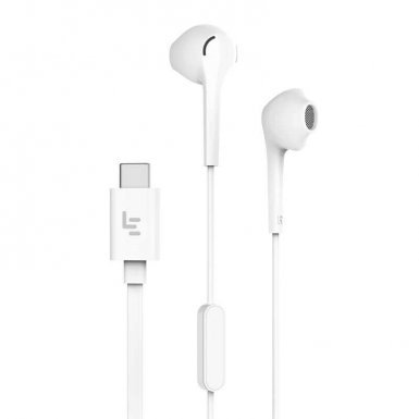 LeEco In-Ear USB Type-C Headset - слушалки с микрофон за смартфони с USB-C конектор (тъмносив)