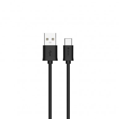 Devia Smart USB-C to USB Cable - USB-C кабел за MacBook 12 и устройства с USB-C порт (100 см) (черен)