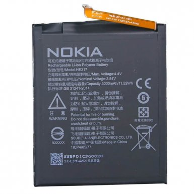 Nokia Battery HE317 - оригинална резервна батерия за Nokia 6 (bulk package)