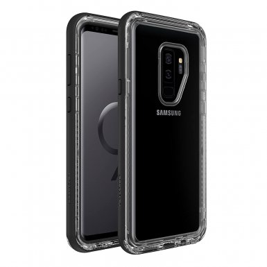 LifeProof Next - удароустойчив кейс за Samsung Galaxy S9 Plus (черен-прозрачен)