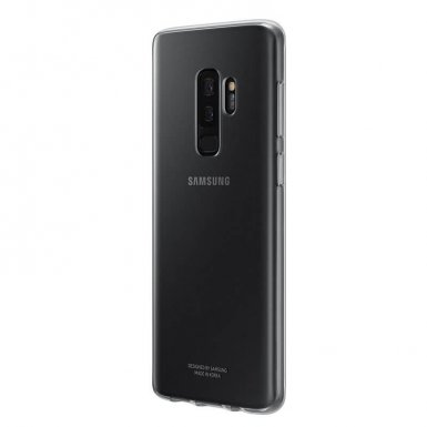 Samsung Clear Cover Case EF-QG965TTEGWW - оригинален кейс за Samsung Galaxy S9 Plus (прозрачен)