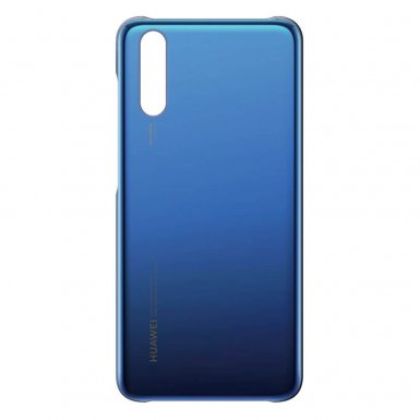 Huawei Color Case - оригинален поликарбонатов кейс за Huawei P20 (син)
