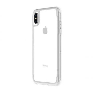 Griffin Survivor Clear Case - хибриден удароустойчив кейс за iPhone XS Max (прозрачен)