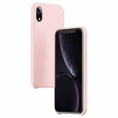 Baseus Original LSR Case - силиконов (TPU) калъф за iPhone XR (розов)
