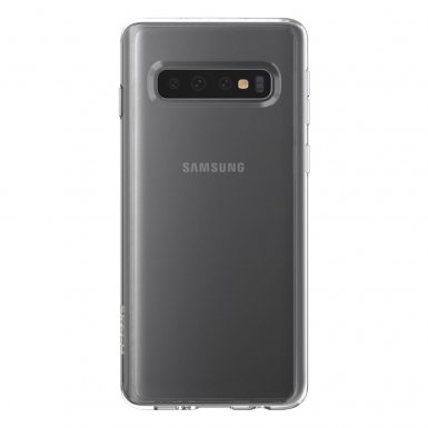 Skech Matrix Case - удароустойчив TPU калъф за Samsung Galaxy S10 Plus (прозрачен)