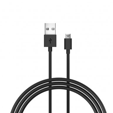 Just Wireless microUSB Charge and Sync Cable - кабел за устройства с microUSB порт (180 см) (черен)