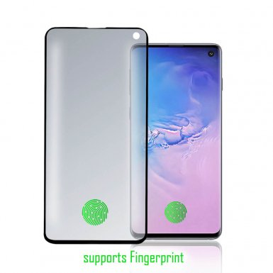 4smarts Curved High Flex Screen Protector with Fingerprint Detection - защитно покритие за дисплея на Samsung Galaxy S10 (прозрачен)