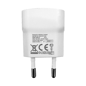 BlackBerry USB Charger HDW-29713 - захранване за Blackberry устройства (bulk) (бял)