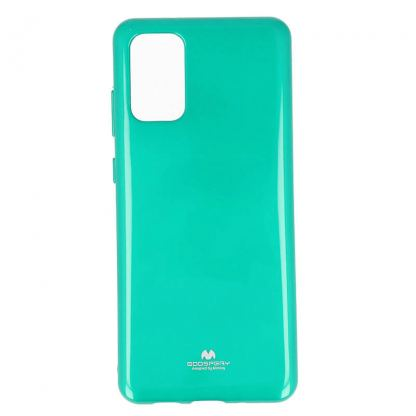 Mercury Goospery Jelly Case - силиконов (TPU) калъф за Samsung Galaxy S20 Plus (зелен)