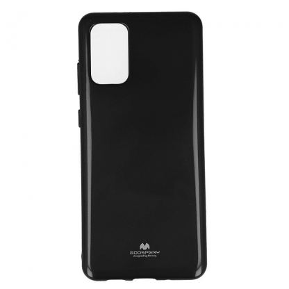 Mercury Goospery Jelly Case - силиконов (TPU) калъф за Samsung Galaxy S20 Plus (черен)