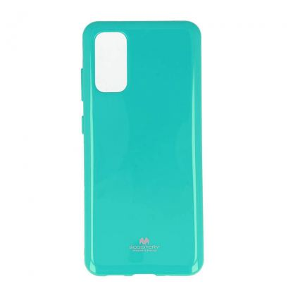 Mercury Goospery Jelly Case - силиконов (TPU) калъф за Samsung Galaxy S20 (зелен)