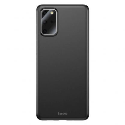 Baseus Wing case - тънък полипропиленов кейс (0.45 mm) за Samsung Galaxy S20 Plus (черен)