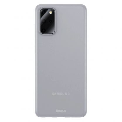 Baseus Wing case - тънък полипропиленов кейс (0.45 mm) за Samsung Galaxy S20 Plus (бял)