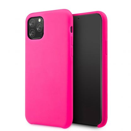 Vennus Silicone Case - силиконов (TPU) калъф за Samsung Galaxy S20 Plus (розов)