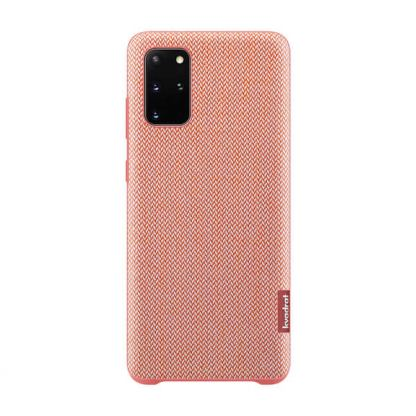 Samsung Kvadrat Cover EF-XG985FREGUS - текстилен кейс за Samsung Galaxy S20 Plus (червен)