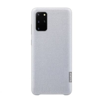 Samsung Kvadrat Cover EF-XG985FJEGUS - текстилен кейс за Samsung Galaxy S20 Plus (сив)