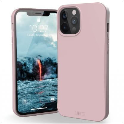 Urban Armor Gear Biodegradable Outback Case - удароустойчив рециклируем кейс за iPhone 12, iPhone 12 Pro (лилав)