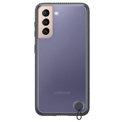Samsung Protective Hard Cover EF-GG996CB - оригинален хибриден кейс за Samsung Galaxy S21 Plus (черен)