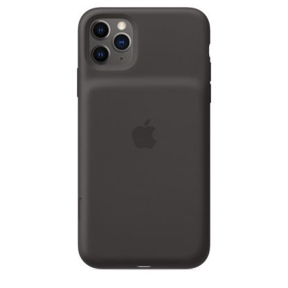 Apple Smart Battery Case - оригинален кейс с вградена батерия за iPhone 11 Pro Max (черен)